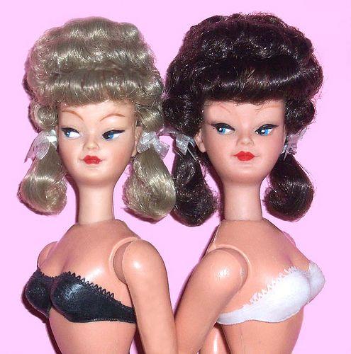 Willy Wildebras, Schwabinchen & Betty dolls