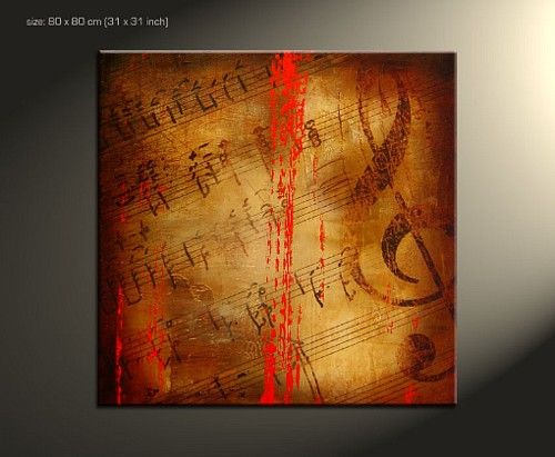 Abstract Music Notes Art: 17 Best Images About Painting Project On Pinterest