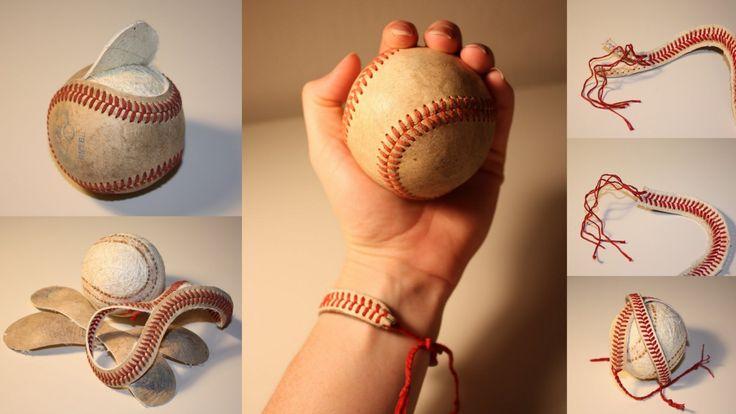truebluemeandyou: Baseball String Bracciale.  Eccellente chiaro tutorial del blog: riesco a trovare il tempo.