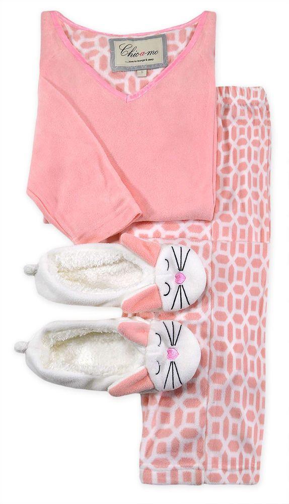 Ladies-Pyjamas-Slipper-Set-New-Womens-V-Neck-Pink-Warm-Fleece-Bunny-PJS-UK-10-16     Ladies-Pyjamas-Slipper-Set-New-Womens-V-Neck-Pink-Warm-Fleece-Bunny-PJS-UK-10-16     Ladies-Pyjamas-Slipper-Set-New-Womens-V-Neck-Pink-Warm-Fleece-Bunny-PJS-UK-10-16  Have one to sell? Sell now Ladies Pyjamas Slipper Set.New Womens V-Neck Pink Warm Fleece Bunny