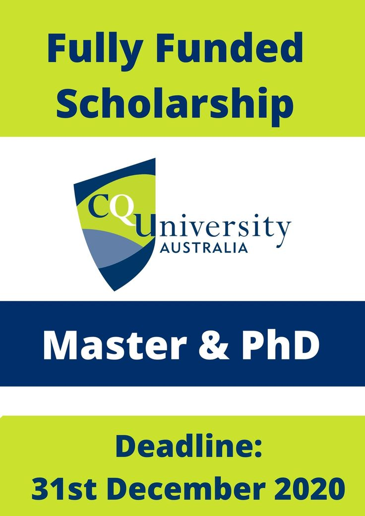 Fully Funded Central Queensland University Scholarship ...