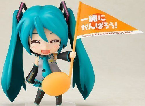 Amazon.com: Vocaloid: Hatsune Miku Support Ver. Nendoroid Action Figure by Good Smile Company: Toys & Games
