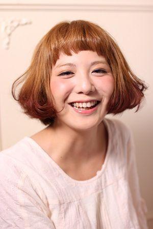 おてんば娘アレンジ☆ラウンド前髪がポイント!印象をヘアカットで変える!イメチェン髪型アイデアの参考に♡