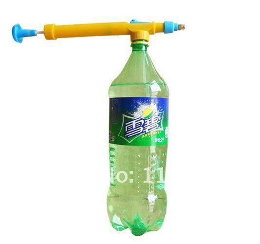 Spruzzatura di plastica Mini Tipo di Pressione di Acqua Pesticidi Spruzzatore Testa giardino accessorio Spray ugello bottiglia di acqua 08120
