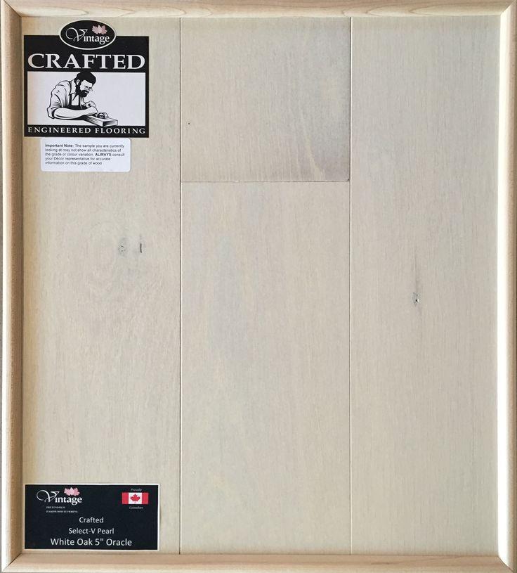 "Included Engineered Hardwood Flooring - White Oak 5"" Oracle"