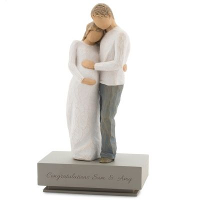 24 best baby gifts images on pinterest baby gifts baby presents from thingsremembered the exclusively personalized willow tree home figurine depicts an expectant mother and father with a separate negle Choice Image