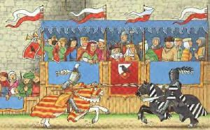 Middle Ages for Kids - Jousts & Tournaments#MedievalJousting #Justjoustit