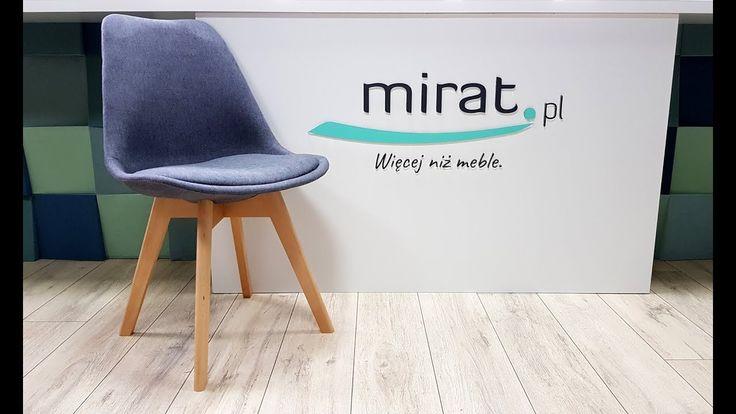 Tapicerowane krzesło Dior - prezentacja produktu