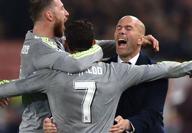 Zidane Hopeful That Granada Can Help Madrid Snatch Liga Title
