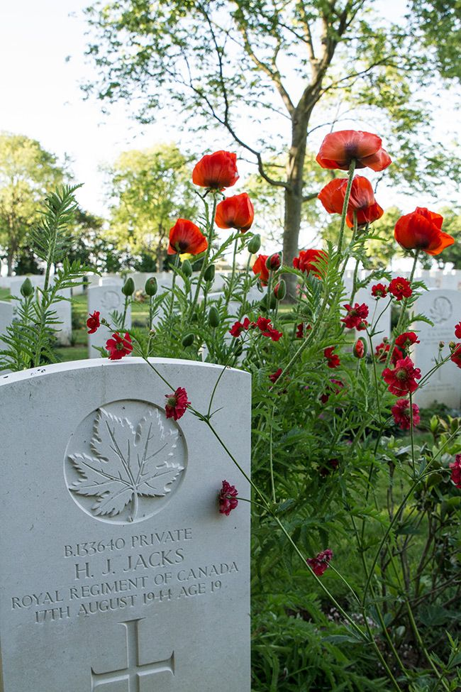 Our trip to the beaches of Normandy and the Canadian War Cemetery in France.