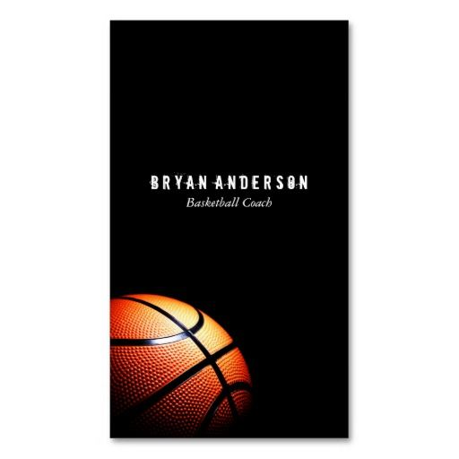 298 Best Sports Coach Business Cards Images On Pinterest