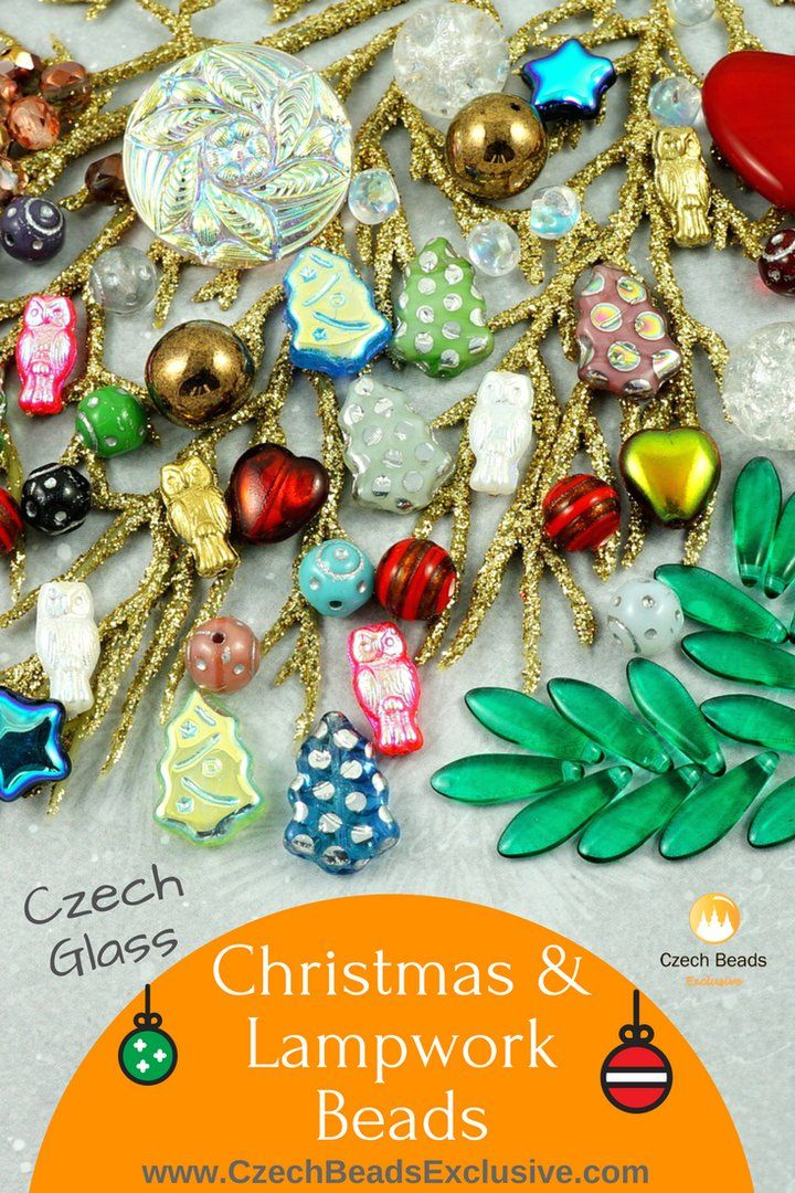 Czech Glass Christmas and Lampwork Beads  Different Colors & Finishes! These beads will make your Christmas jewelry outstanding!� - Buy now with discount!  Hurry up - sold out very fast! www.CzechBeadsExclusive.com/+christmas SAVE them! ??Lowest price from manufacturer! Get free gift! 1 shipping costs - unlimited order quantity!  Worldwide super fast ?? shipping with tracking number! Get high wholesale discounts! Sold with  at http://www.CzechBeadsExclusive.com #CzechBeadsExclusive…