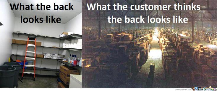 Retail Meme | Truth Behind Retail Stores... - Meme Center