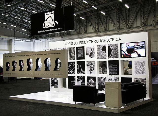 "NBC exhibition stand | IRF 2012 by XZIBIT`S ""EYE LOVE CANDY"" PORTFOLIO, via Flickr"