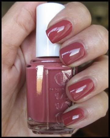 Essie - In Stitches.  Love this color!