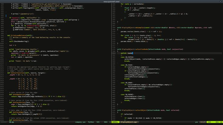 badwolf-derivative for emacs
