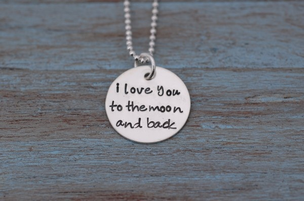 To The Moon And Back: I Love You, Style, Kids Stuff, Random Things, Beautiful, Jewelry, Brown Hair, Moon Necklace, The Moon