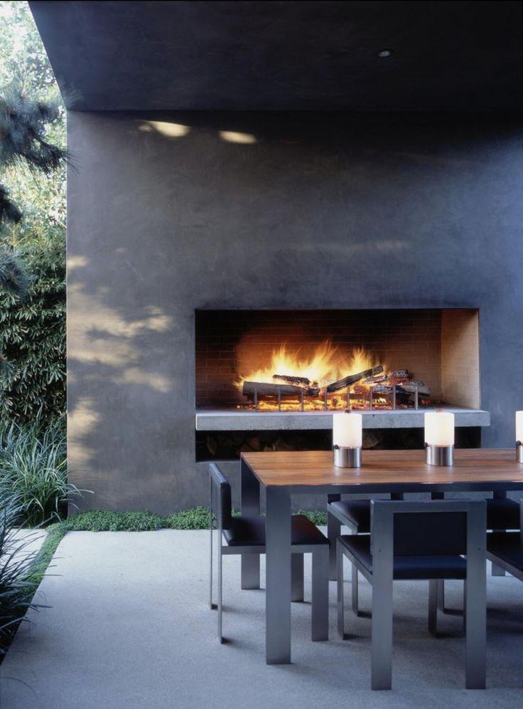 Betonstuc ist auch ideal für den Außenbereich geeignet und sieht in vielen Farben aus. Geeignet für fugenlose Böden, Kamine, Wände und Küchen …