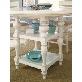 I am looking for a counter height white/off white table
