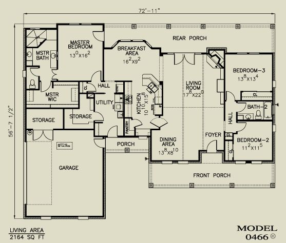 89 best House plans images on Pinterest | Architecture, Bedroom ...