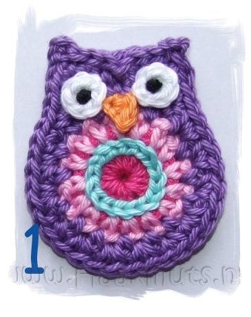 Free Crochet Pattern Owl Family : 454 best images about Crochet Owls (Corona) on Pinterest ...