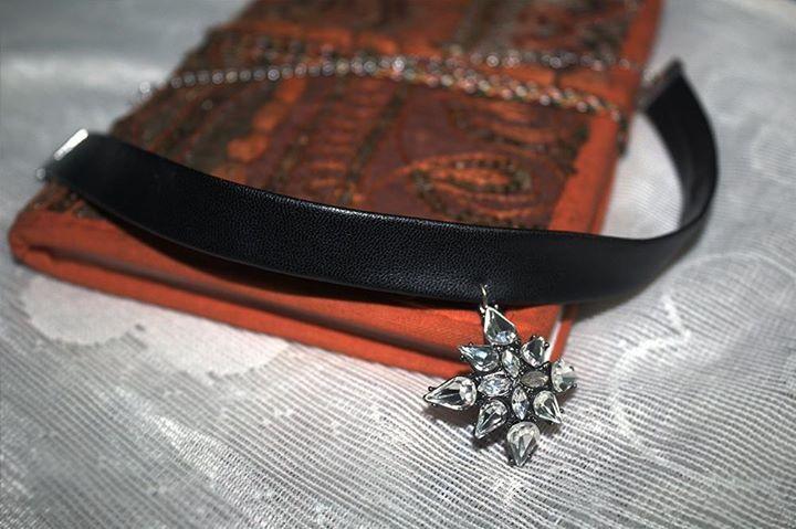 #tashiarablog #chokernecklace #statement #leather #fashion #style #lookgood #trendy #jewellery #beautiful #favourite http://www.tashiara.com/
