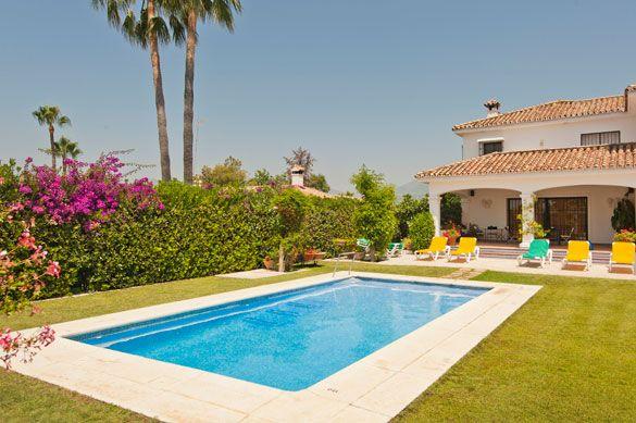 Villa Altavista Sol, San Pedro, Costa del Sol, Spain. Find more at www.villaplus.com