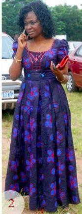 modèle robe pagne africain Plus