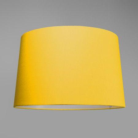 Plafonniere Ton rond 50 geel - Deze mooie plafonnière wordt compleet geleverd met een chique kap en een blender. De blender gebruikt u om een egale lichtverdeling te creëren en zorgt er bovendien voor dat u niet direct in de lichtbron kijkt. Voorzien van een E27 fitting, dus geschikt voor een diversiteit aan lichtbronnen!