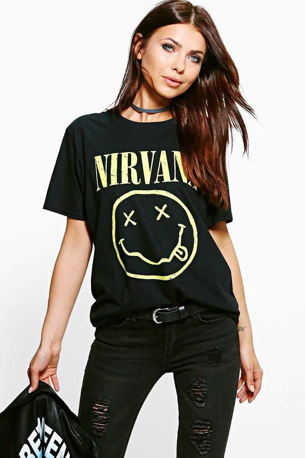 64d21711 Nirvana grunge tee shirt must have for any grunge look. #affiliate #ad