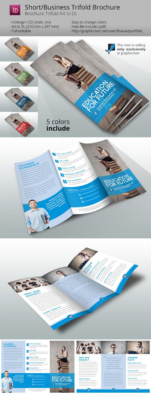 Best Brochures Images On   Brochures Design Layouts