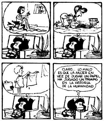 Las 10 mejores frases feministas de Mafalda
