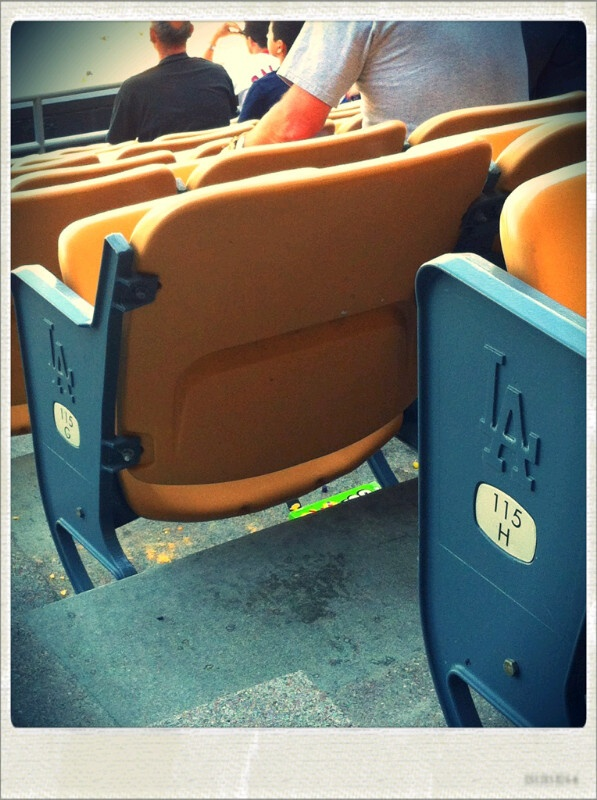 LA DODGER SEATS
