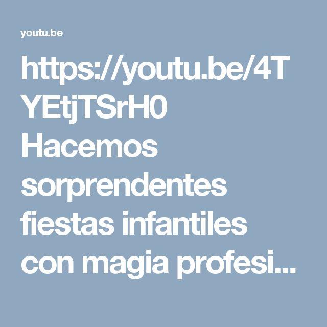 https://youtu.be/4TYEtjTSrH0 Hacemos sorprendentes fiestas infantiles con magia profesional, fantásticos inflables y saltarines, títeres, personajes y chiquitecas no dudes en llamarnos estamos atentos a atenderle 3204948120-4114997 reserva tu fiesta ahora, tenemos sorprendentes precios http://www.fiesticasbogota.com/magia-y-magos-para-fiestas-i… #magiaprofesional #fiestasinfantiles  https://www.youtube.com/watch?v=4TYEtjTSrH0