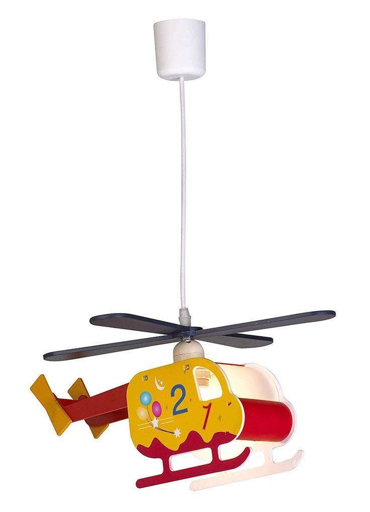 Lampe Kinderzimmer Junge Flugzeug