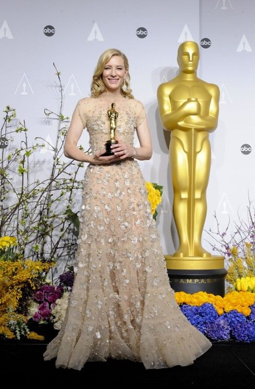 Cate Blanchett wins Best Actress and gives a great speech at the 2014…