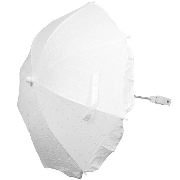Baby Boom 2000 - Universal Broderie Anglaise Pram Liner And Parasol White, £28.99 (https://www.babyboom2000.co.uk/products/universal-broderie-anglaise-pram-liner-and-parasol-white.html)