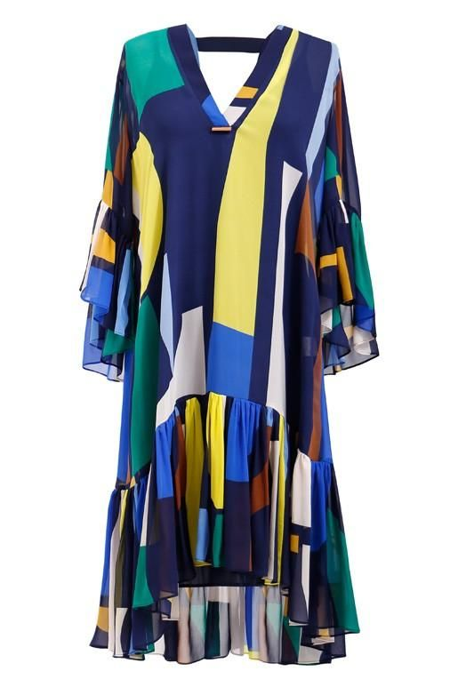 Ginger & Smart - Simone Dress With Sleeve