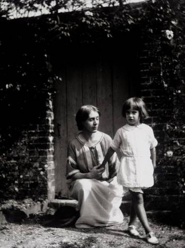 Vanessa Bell and Angelica, her daughter by the artist Duncan Grant. Until she was 18, Angelica believed she was the daughter of Clive Bell, Vanessa's husband, who was the father of her two sons, Julian and Quentin