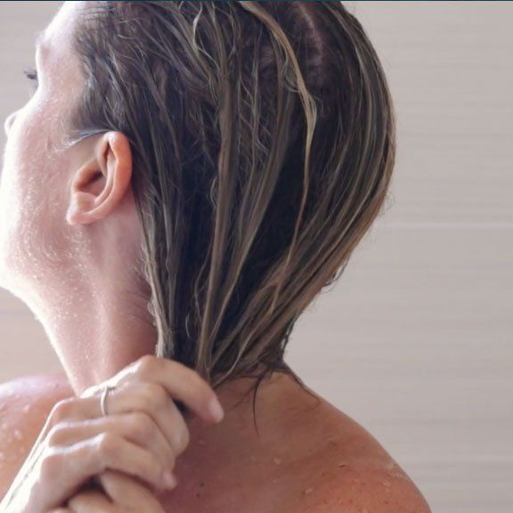 How to Wash Your Hairthe Lazy Way