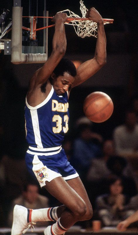 "David Thompson | skywalker | Before there was Michael Jordan, there was fellow North Carolinian, David Thompson. Nicknamed ""Skywalker"", Thompson dazzled Nuggets fans from 1975-82 with his incredible leaping ability, crowd-pleasing dunks and seemingly effortless scoring ability."
