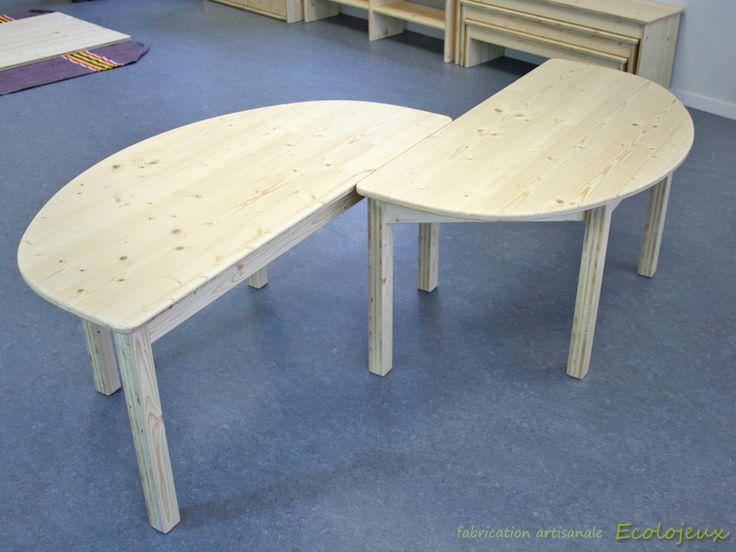 Table en bois, durable, solide, écologique. Fabrication artisanale Ecolojeux. Uniquement sur commande.  contact@ecolojeux.com https://www.ecolojeux.com/bascule-jouets-a-tirer-jouets-a-pousser/96-bascule-en-bois-table-enfants-en-bois-et-marchande-en-bois.html