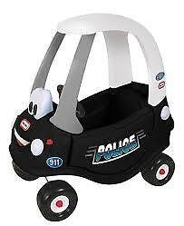 LITTLE TIKES - POLICE PATROL COZY COUPE - 100% Kid powered police car