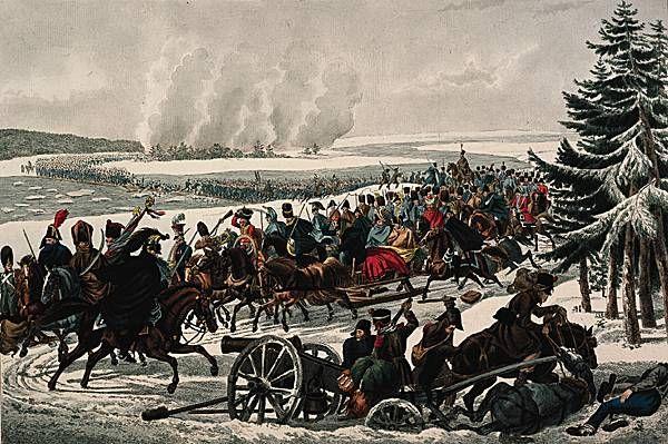 Passage de la Berezina par l'armée française