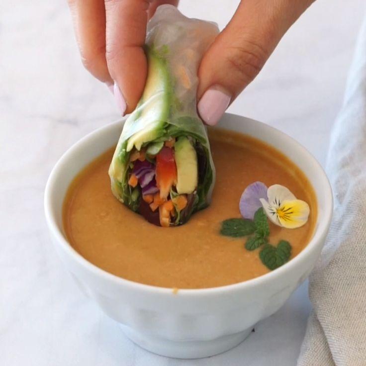 Spring Rolls  – Vegane rezepte