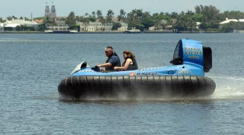 The Thrill of a Hov Pod Leisure Hovercraft Experience