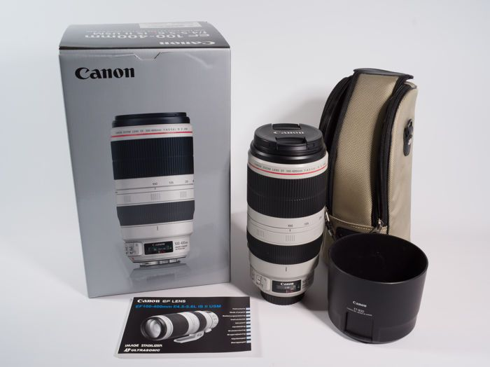 Aktuell in den #Catawiki-Auktionen: Canon Objektiv EF 100-400mm f/4.5-5.6 L II IS USM