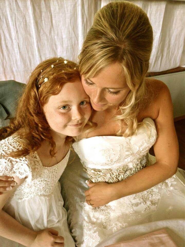 My Flowergirl,princess and beautiful daughter♡