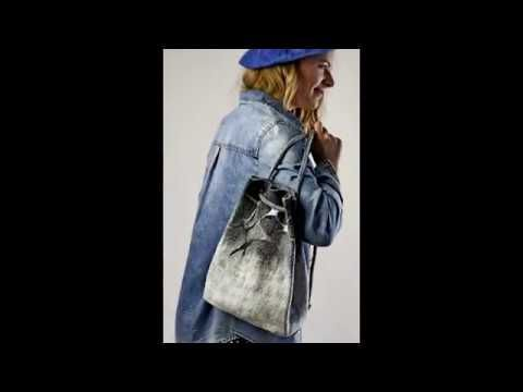 Felted bag collection for urban girls