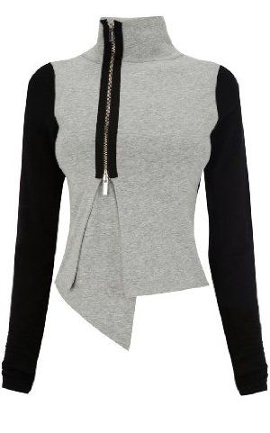 Karen Millen Jersey Knit Jacket  great with sweats for a trendy chill out look